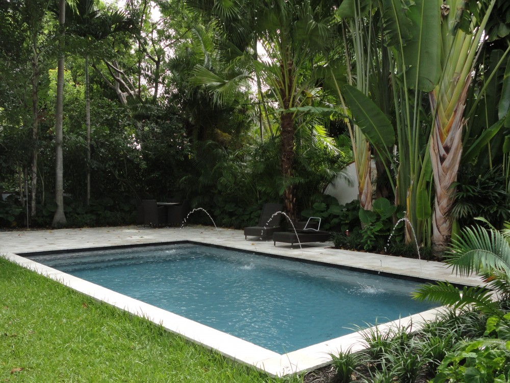 Rectangle Pool rectangle | pool types | signature pools & spas inc