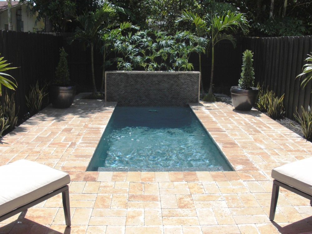 Pools for small yards images joy studio design gallery for Best pool design 2014
